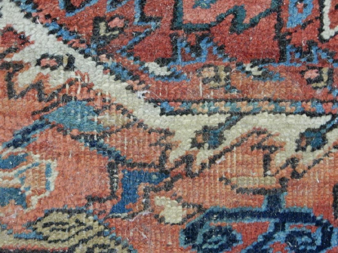 Hand tied Persian Heriz carpet - 4