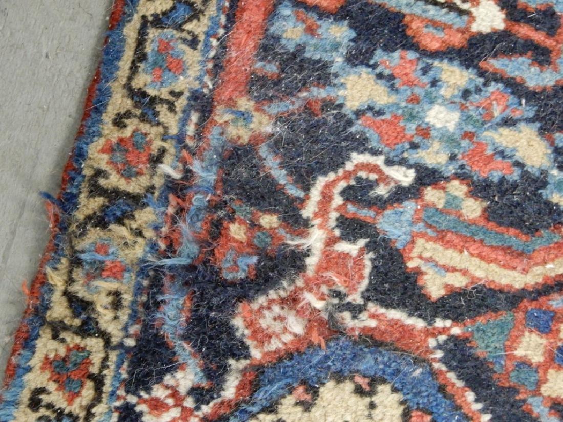 Hand tied Persian Heriz carpet - 5