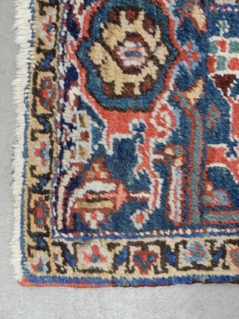 Hand tied Persian Heriz carpet - 6