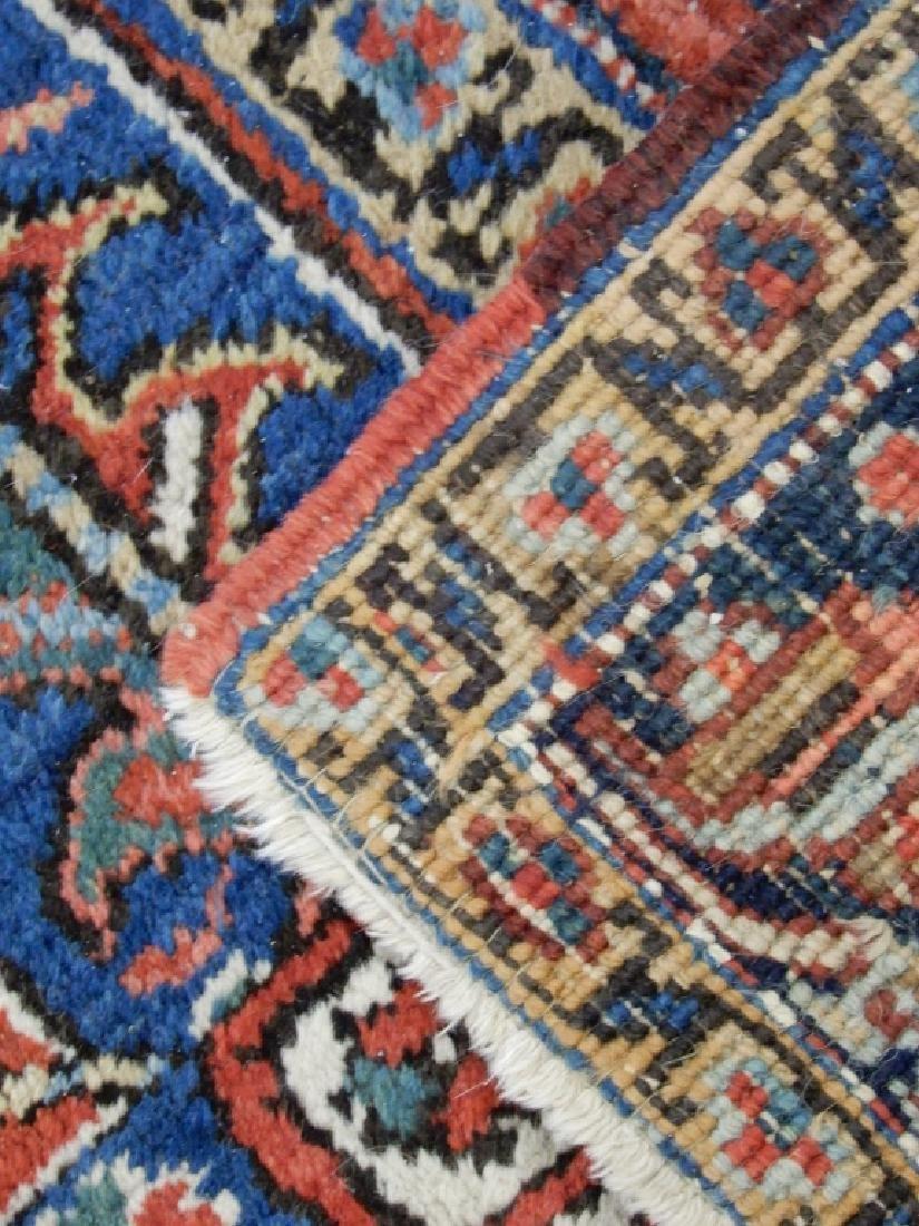 Hand tied Persian Heriz carpet - 7