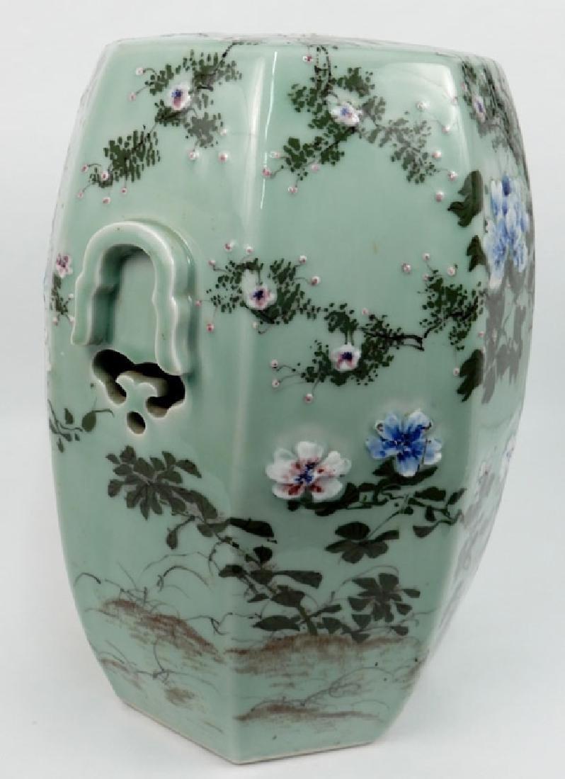 Chinese celadon garden seat - 6