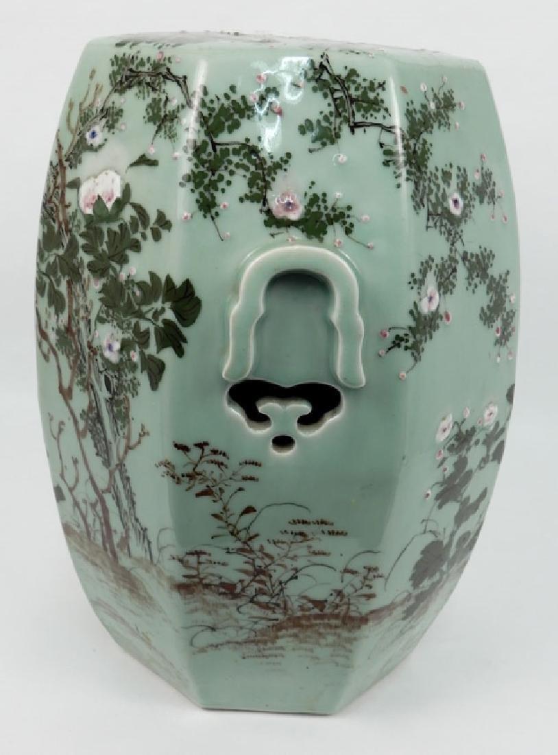 Chinese celadon garden seat - 7