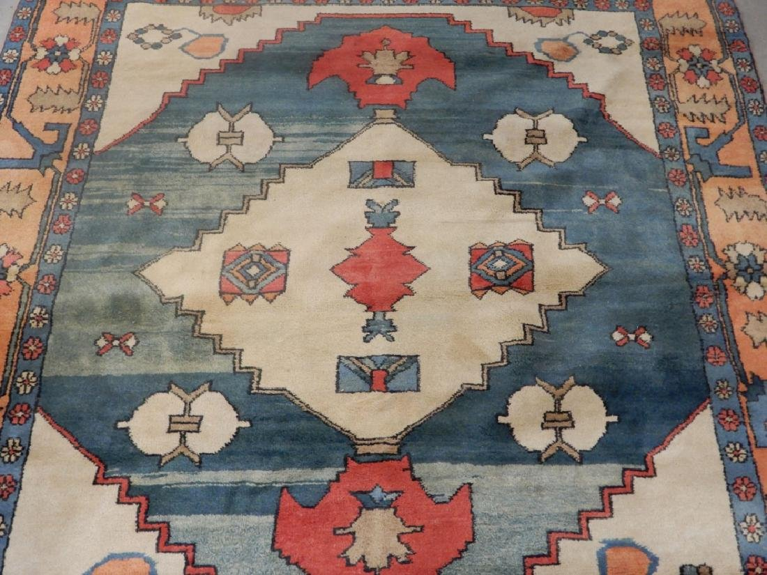 Hand tied rug Turkish Azeri - 2