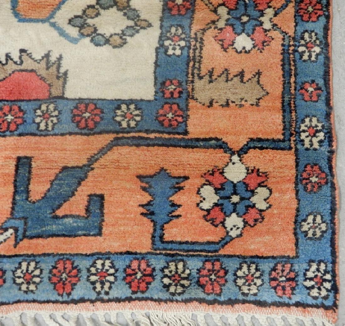 Hand tied rug Turkish Azeri - 3