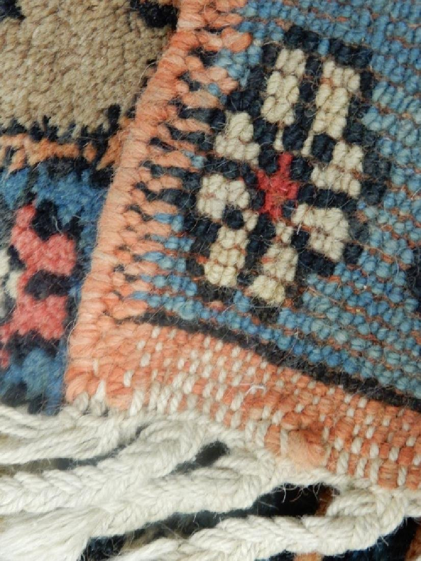 Hand tied rug Turkish Azeri - 4