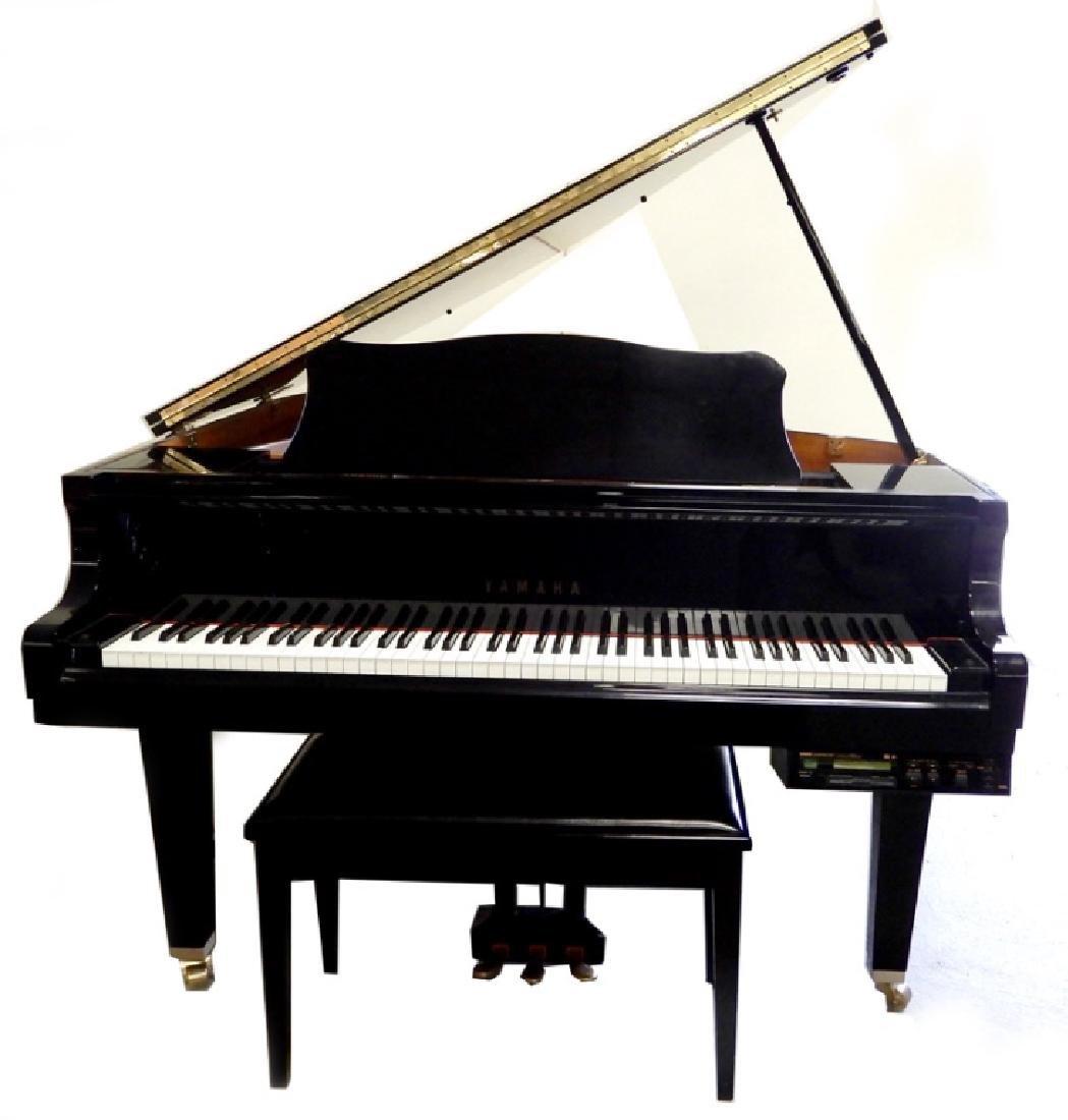 Yamaha baby grand player piano