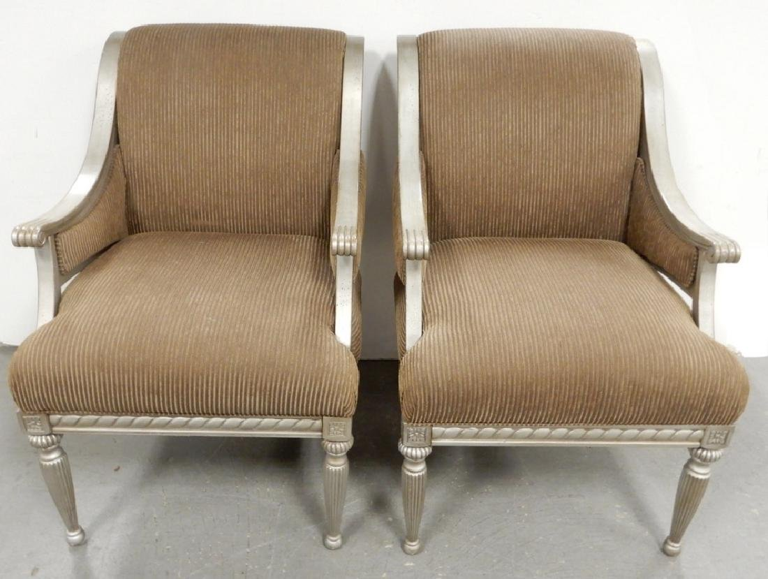 Pair of Schnadig lounge chairs