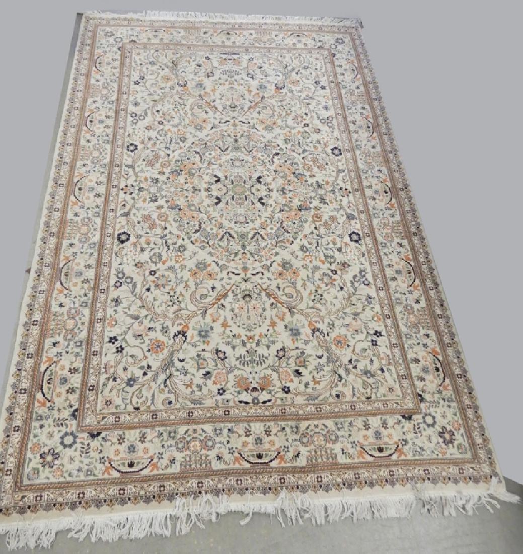 Hand tied Persian carpet Tabriz