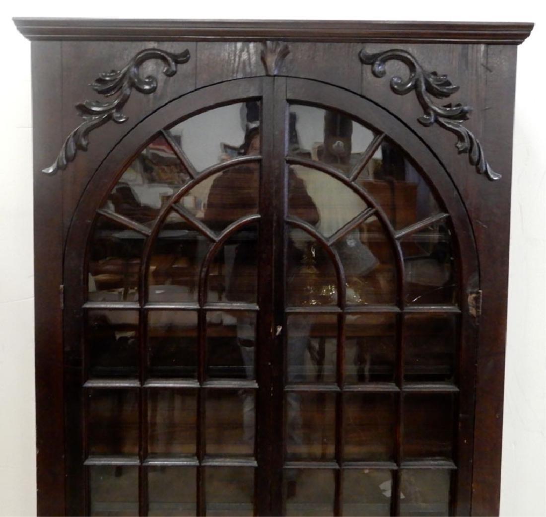 Double glass door bookcase - 2