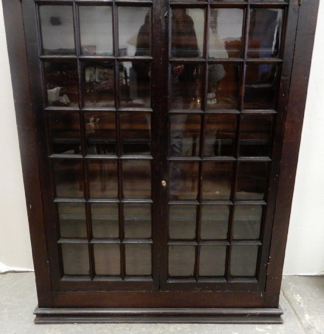 Double glass door bookcase - 3