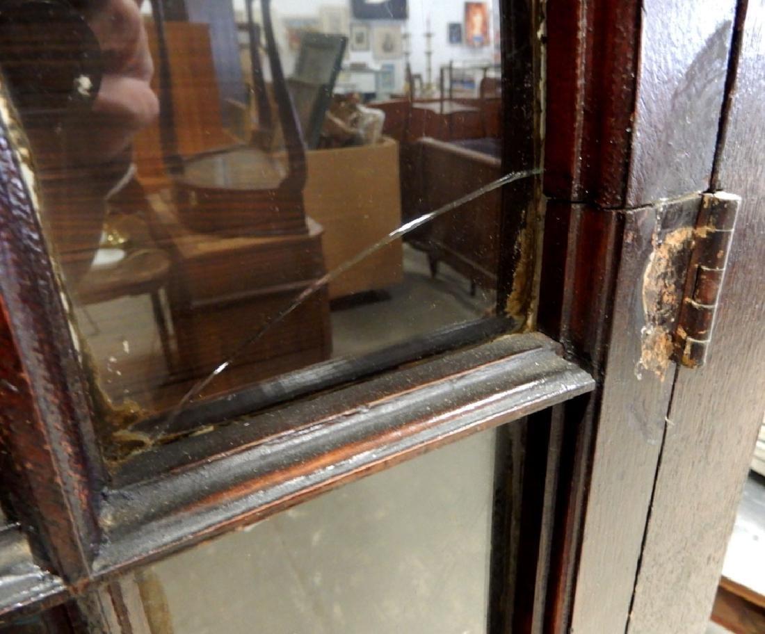 Double glass door bookcase - 4