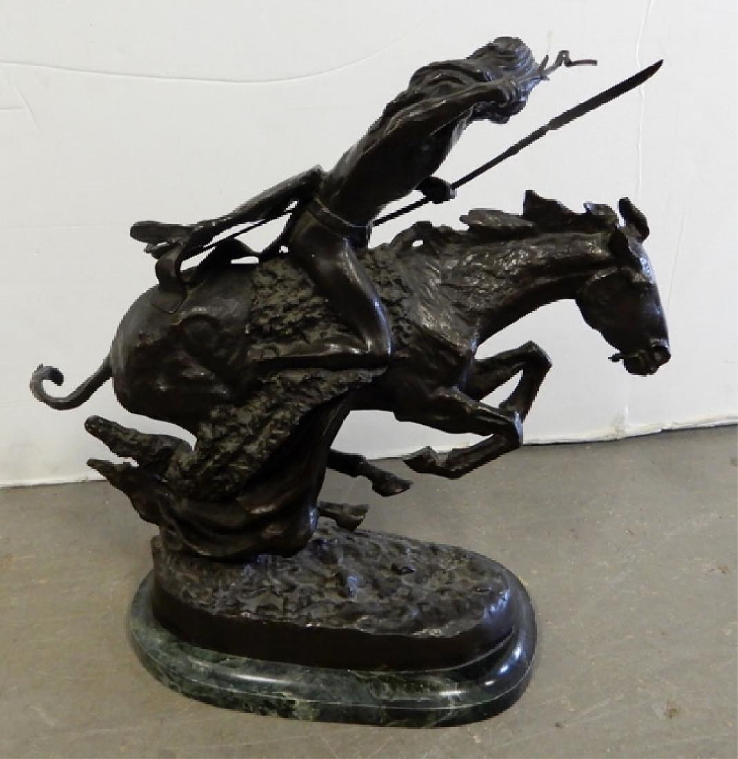 Frederic Remington bronze recast - 3