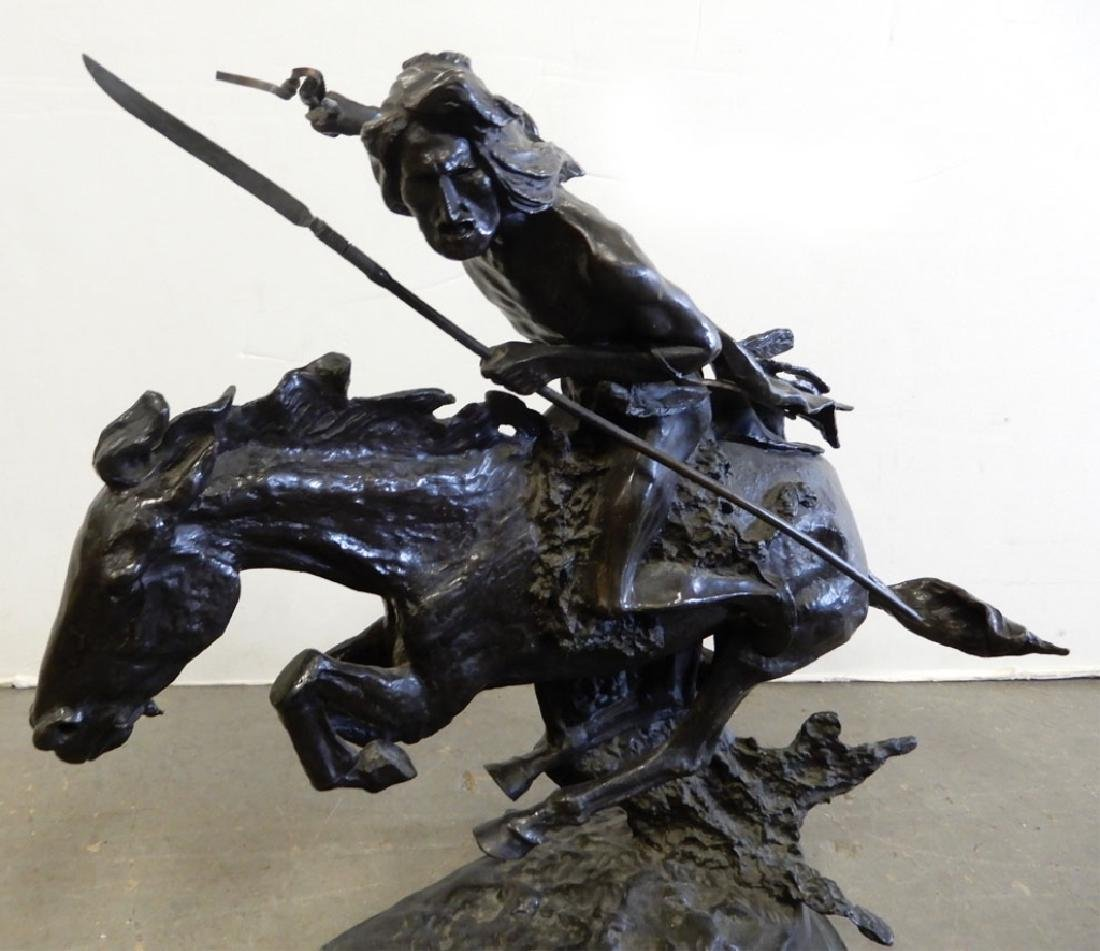 Frederic Remington bronze recast - 4