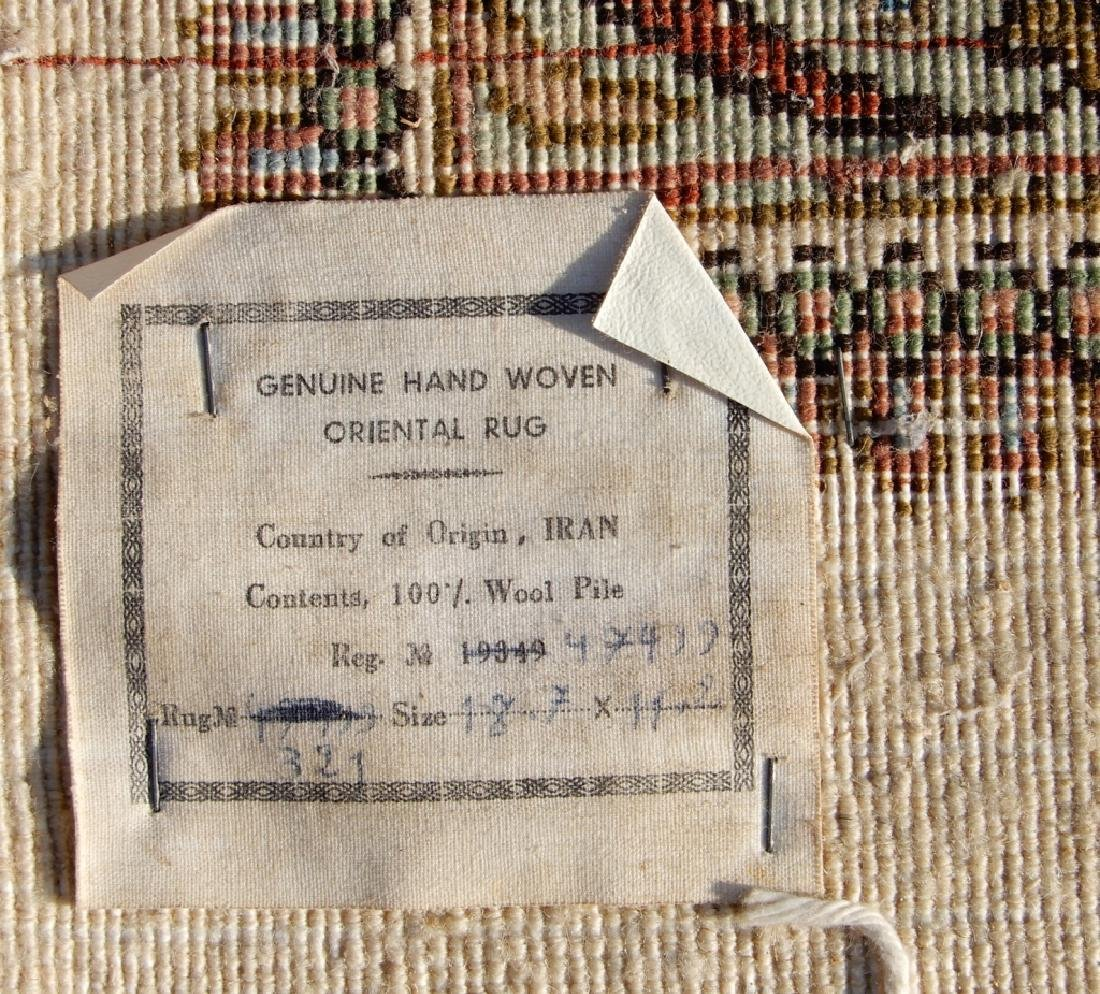 Hand tied Persian palace carpet - 8