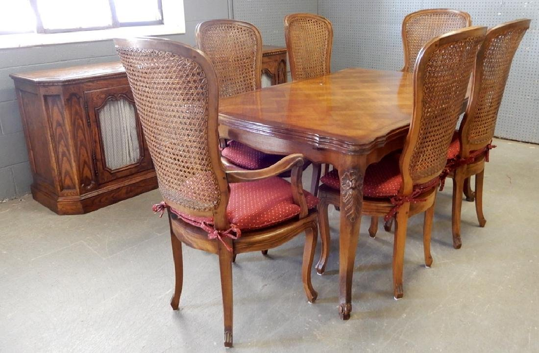 Louis XV style dining room set