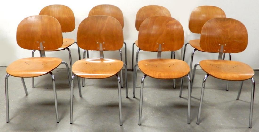 Giancarlo Piretti Xylon stacking chairs