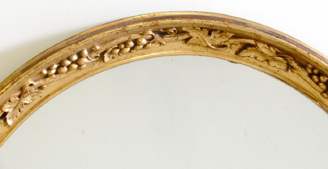 Gilt framed mirror - 2