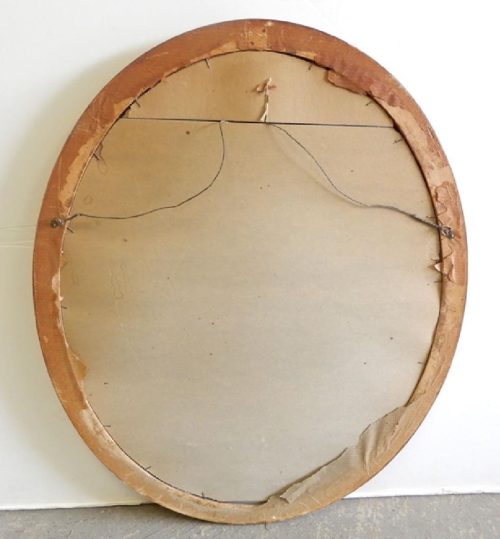 Gilt framed mirror - 7