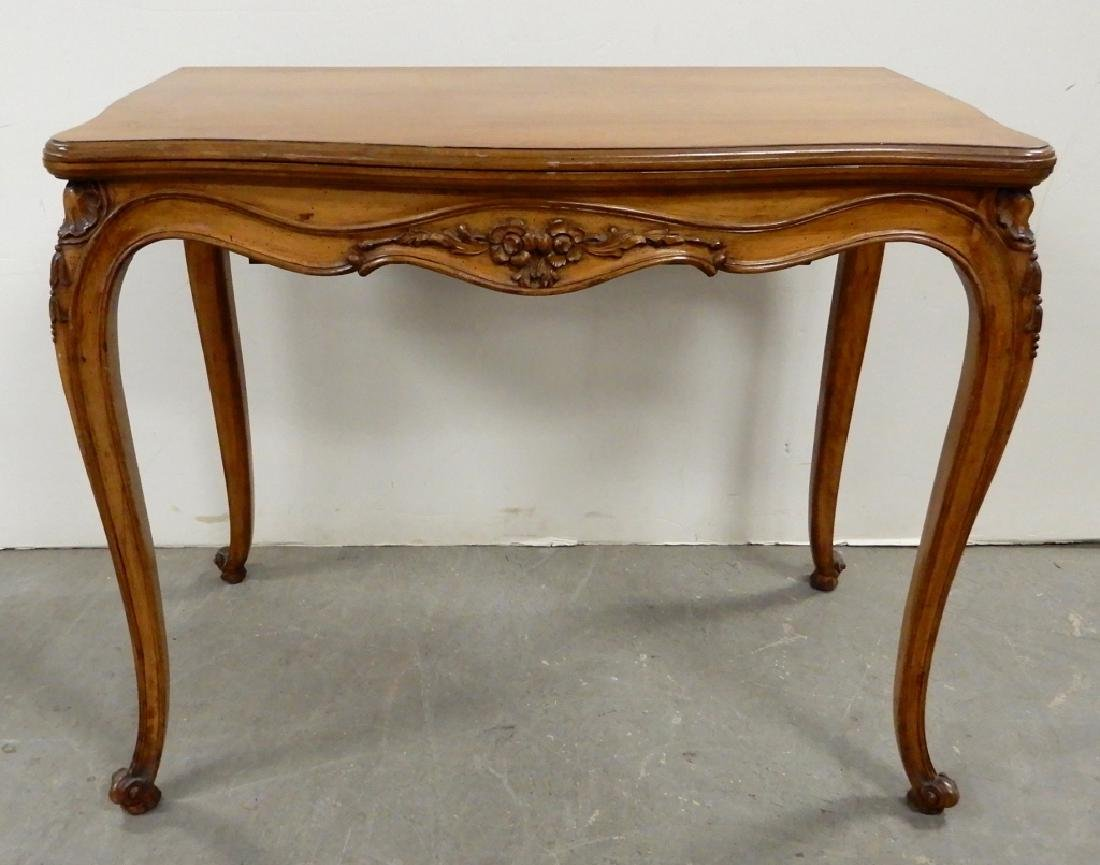 Louis XV style cherry extension table by Danby
