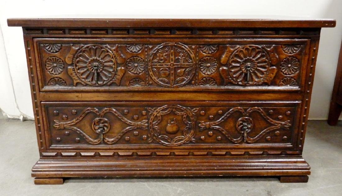 Widdicomb two drawer chest