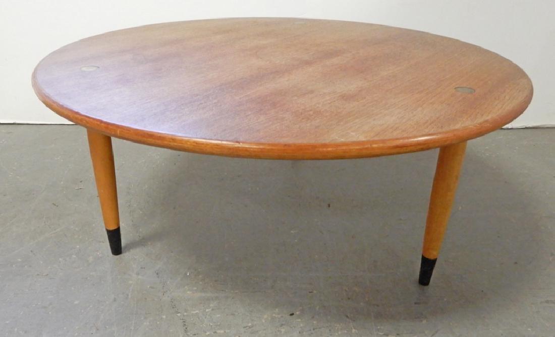 Dux teak cocktail table