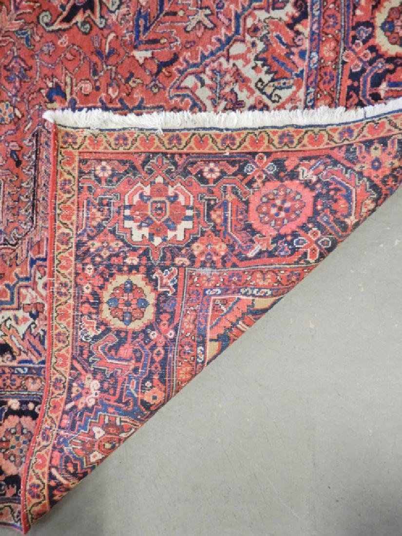 Hand tied Persian carpet Heriz - 2