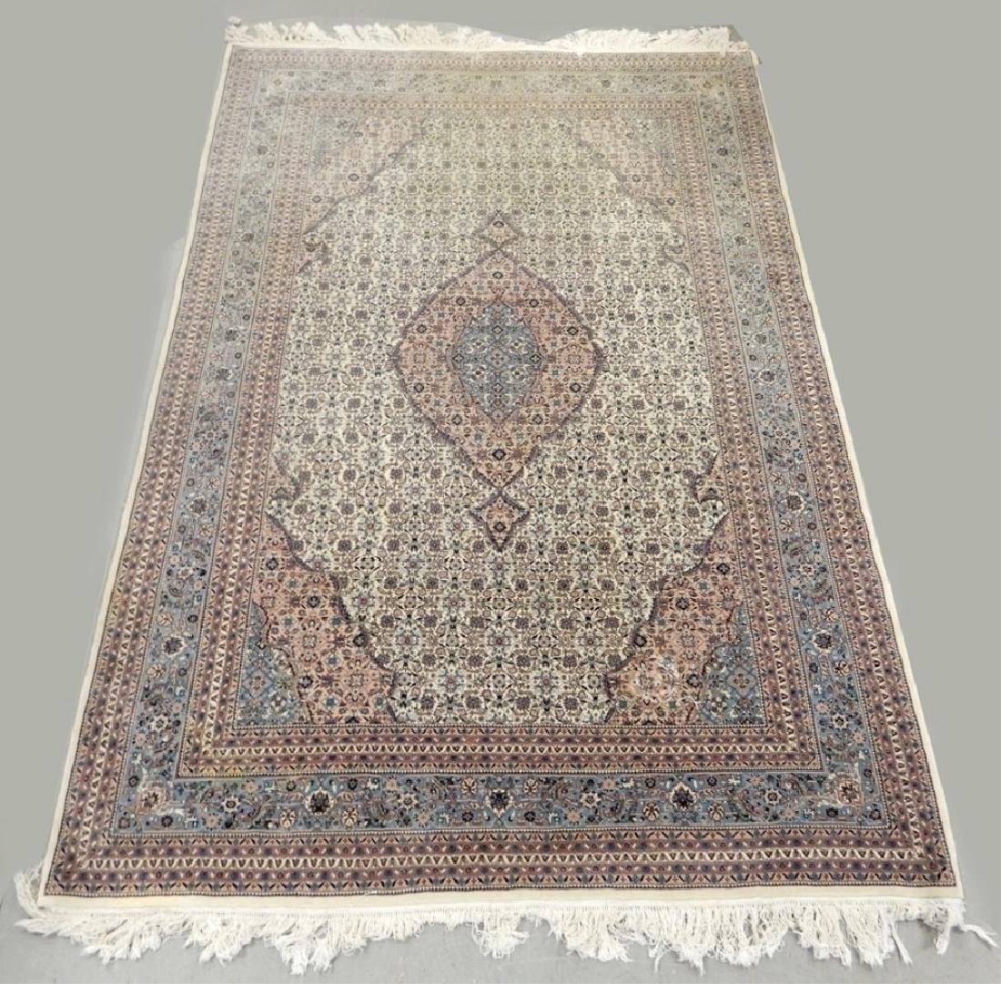 Chinese Kashan design hand knotted rug
