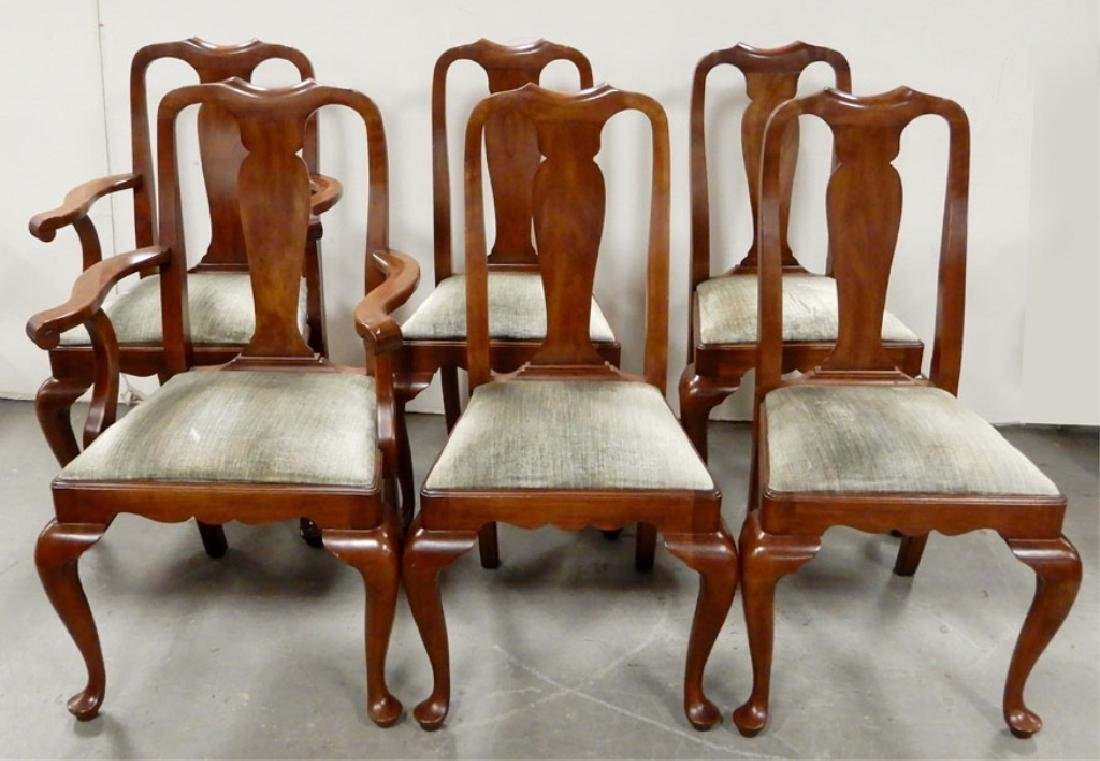 Henkel Harris cherry dining chairs