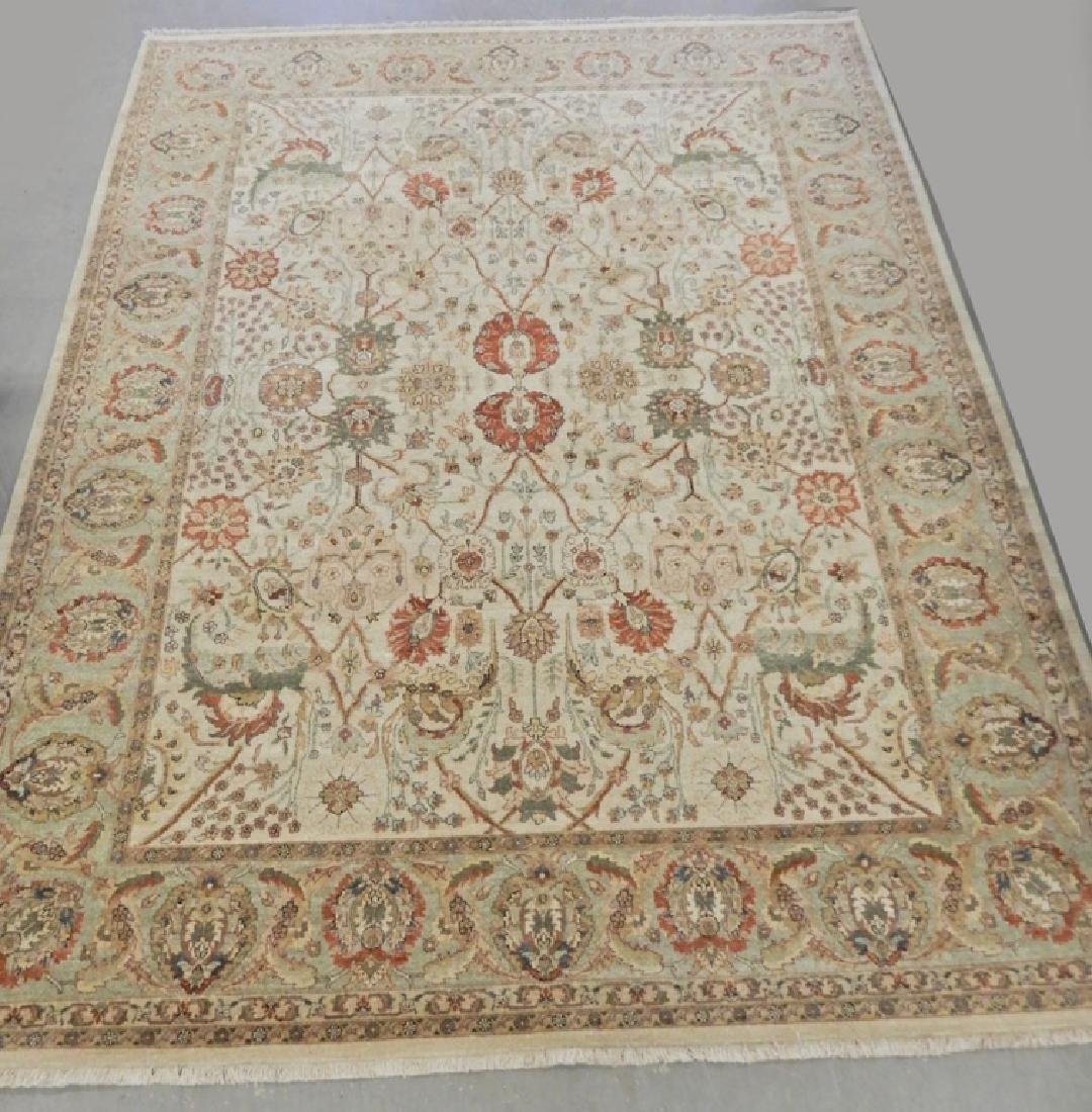 Hand tied carpet  Tabriz design