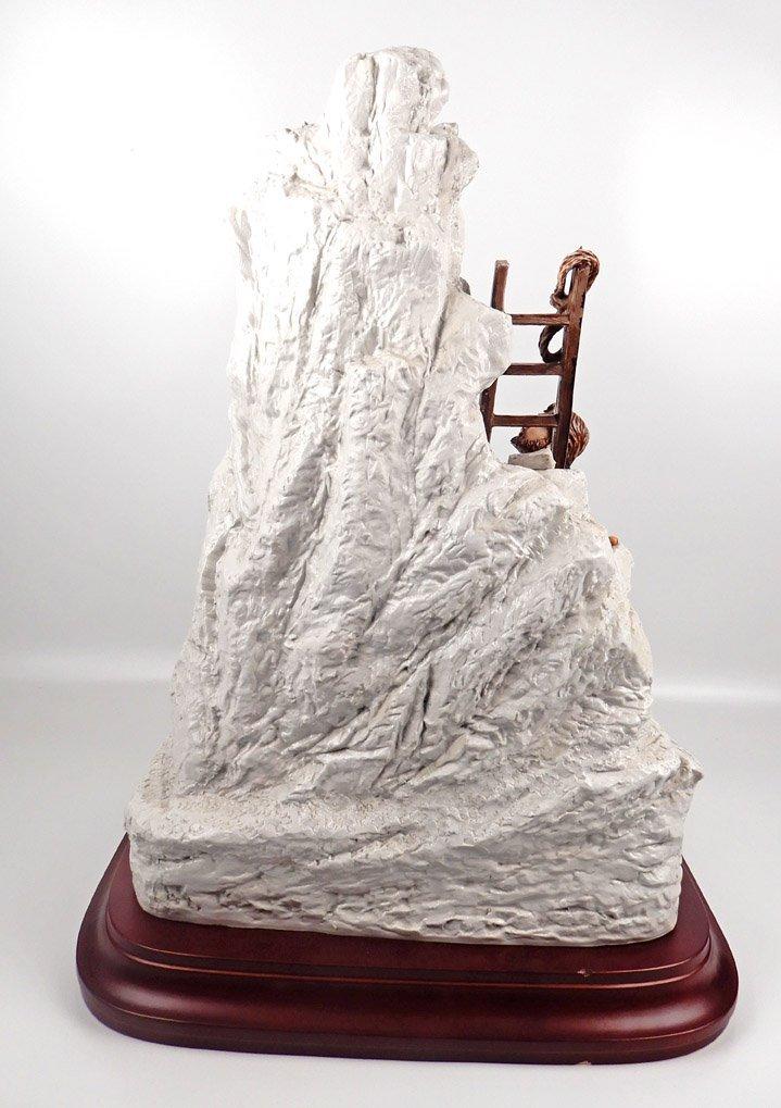 Capodimonte porcelain figure of Michelangelo sculpting - 7