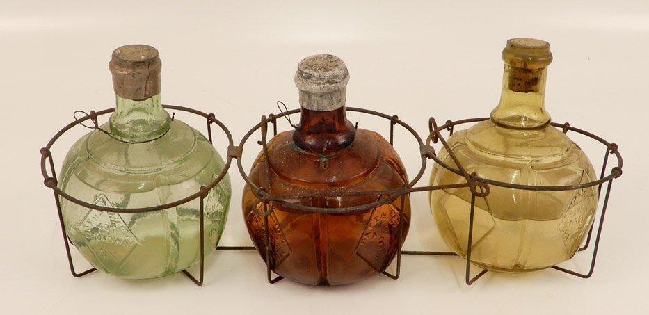 Heyward hand fire grenade set in wire holder
