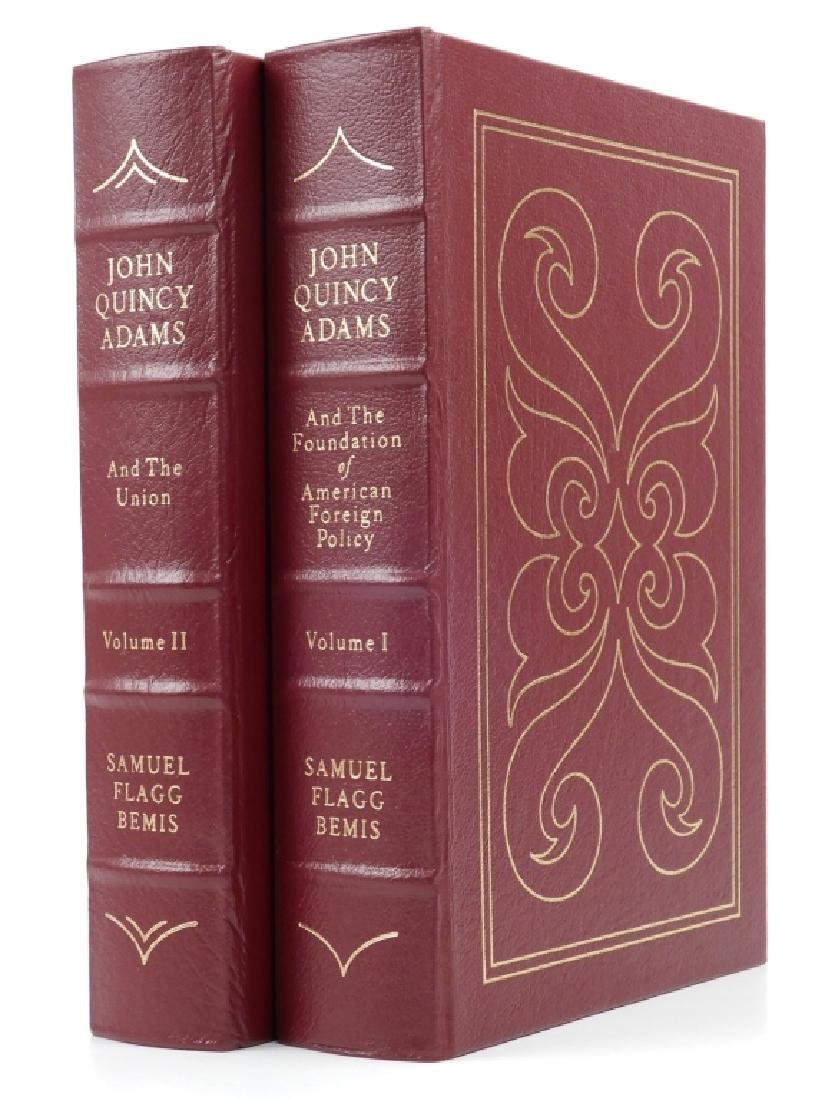 John Quincy Adams two volume set by Samuel Flagg Bemis