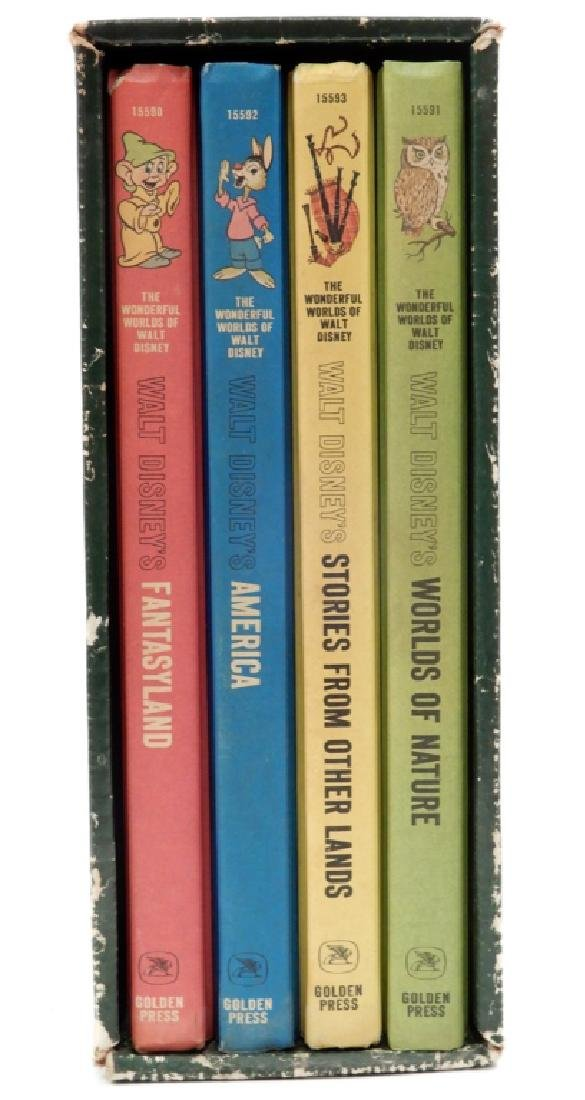 The Wonderful Worlds of Walt Disney four volume set - 2