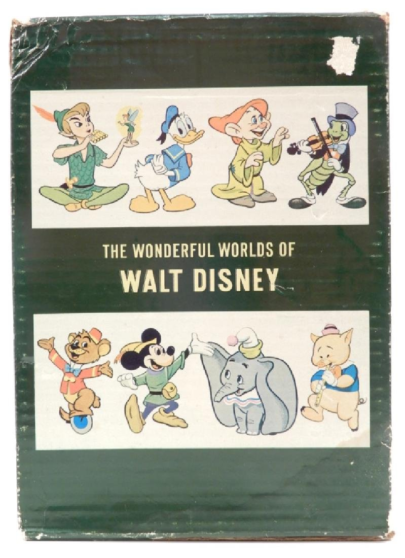 The Wonderful Worlds of Walt Disney four volume set - 3