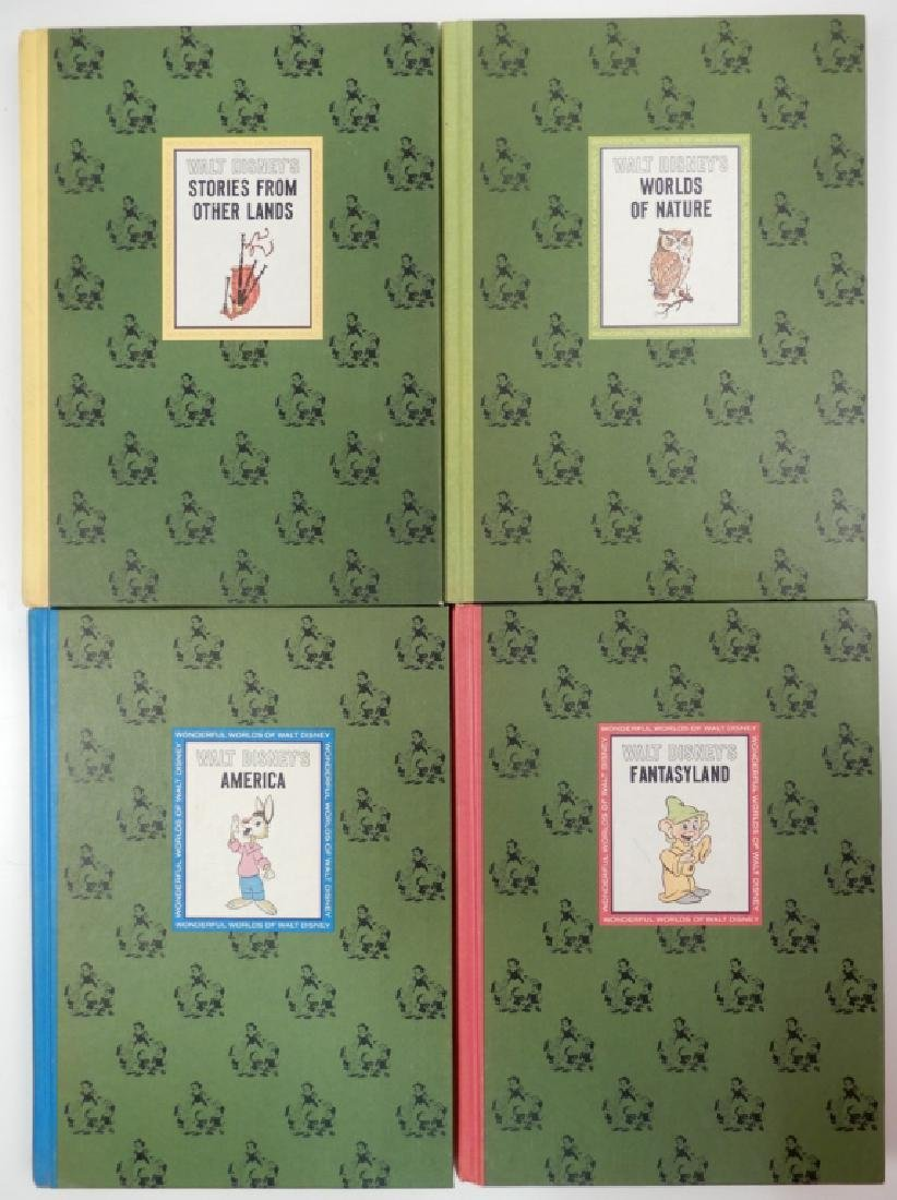 The Wonderful Worlds of Walt Disney four volume set - 5