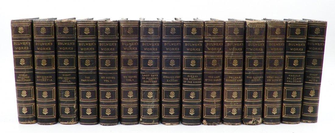 Fifteen volumes of Bulwers Works