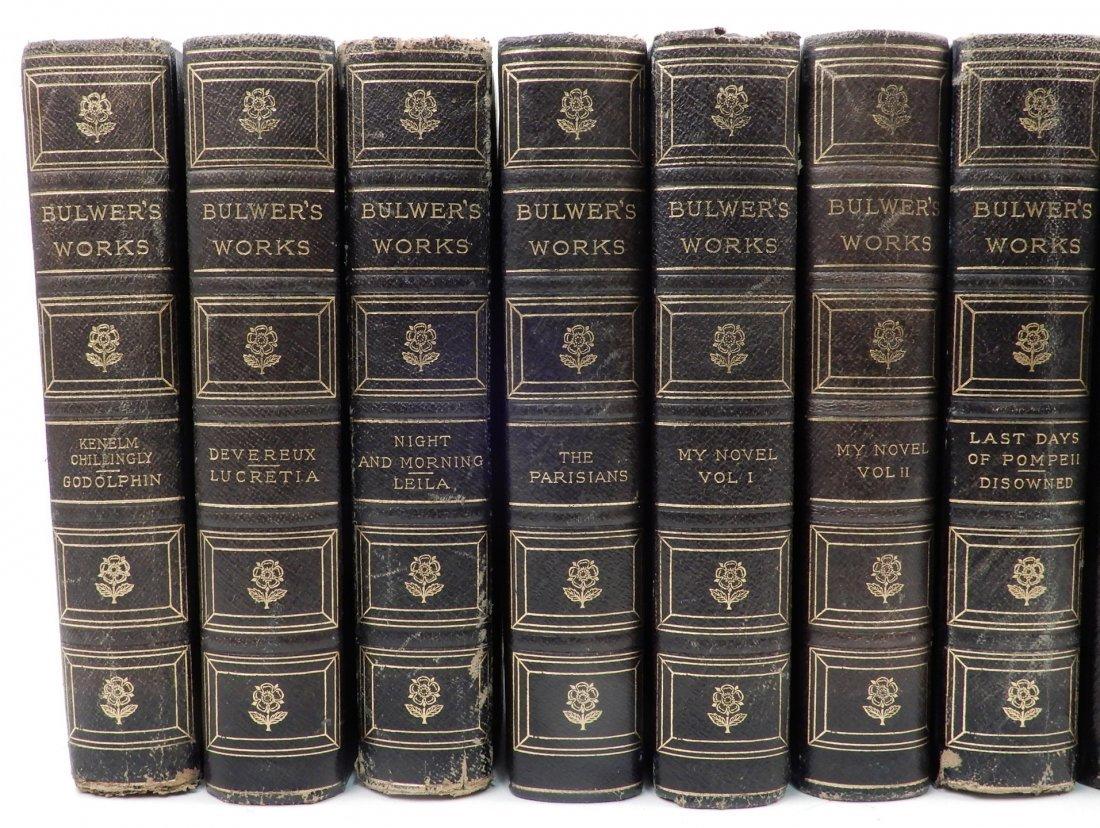 Fifteen volumes of Bulwers Works - 2