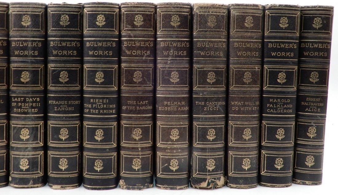 Fifteen volumes of Bulwers Works - 3