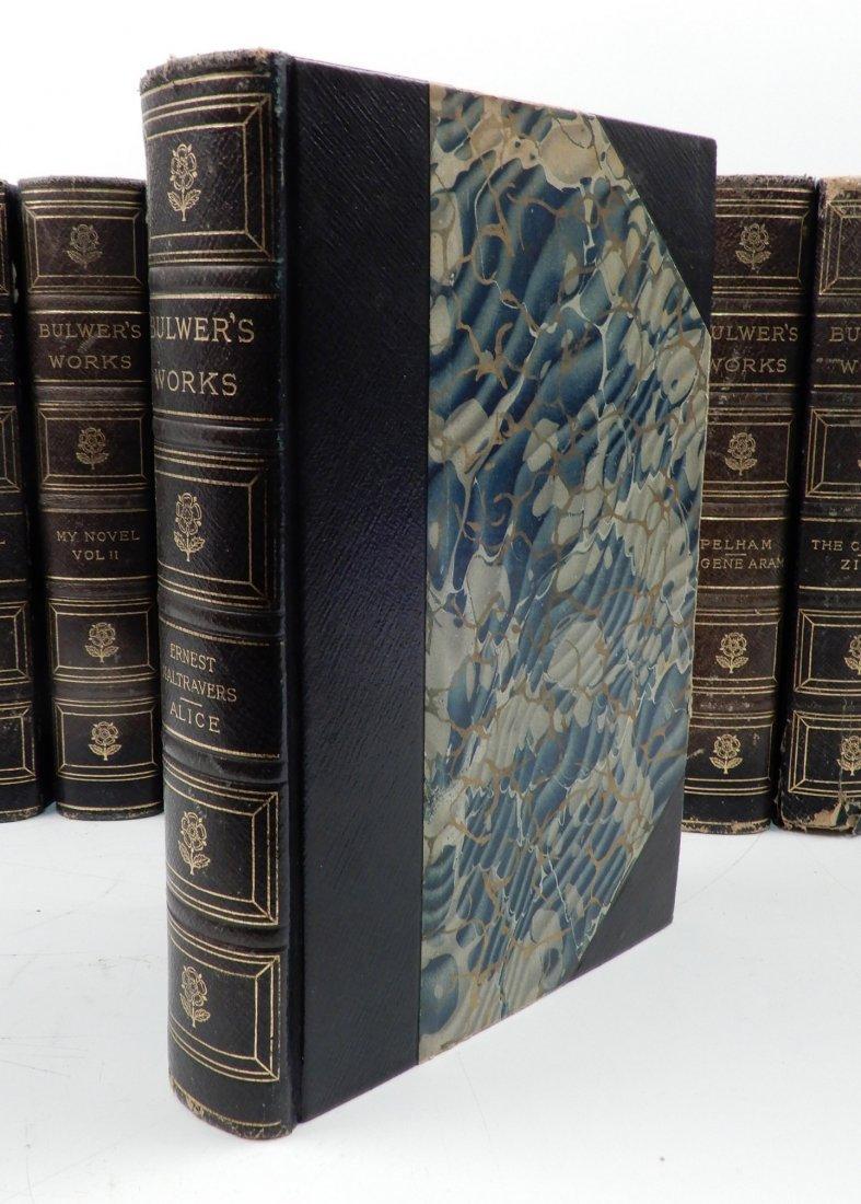 Fifteen volumes of Bulwers Works - 4