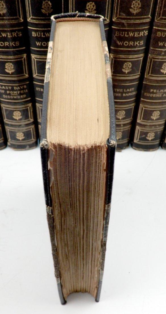 Fifteen volumes of Bulwers Works - 5