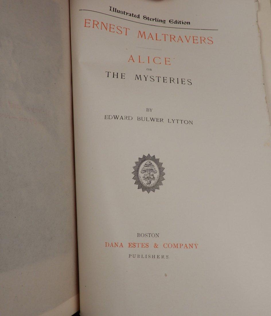 Fifteen volumes of Bulwers Works - 6