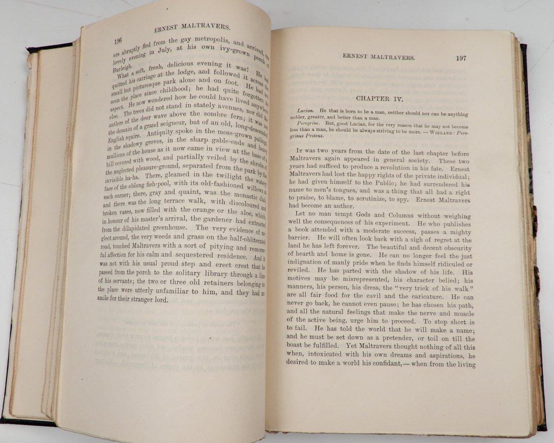 Fifteen volumes of Bulwers Works - 7