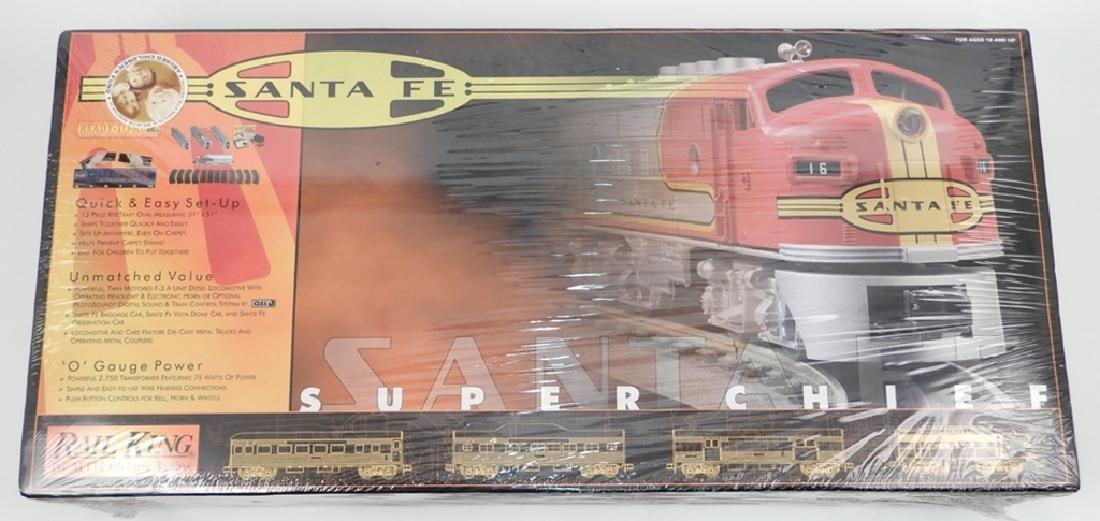 Rail King Santa Fe Super Chief Set in original box