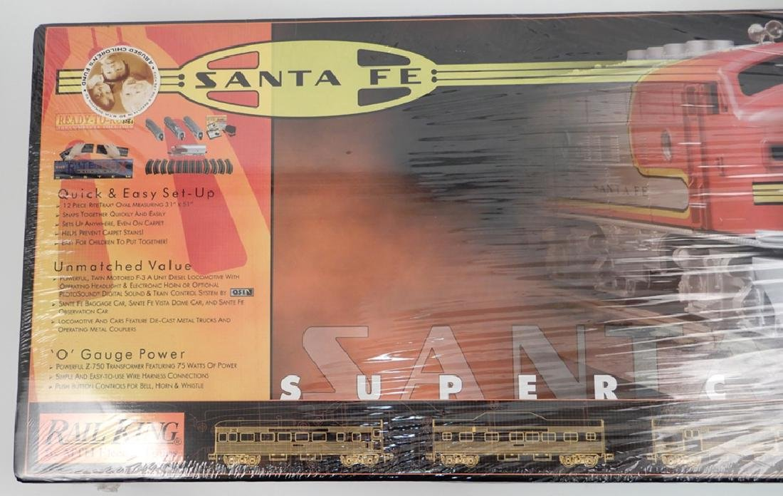 Rail King Santa Fe Super Chief Set in original box - 2