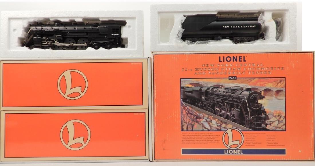 Lionel 763E NYC J1-e Hudson Steam Locomotive in box