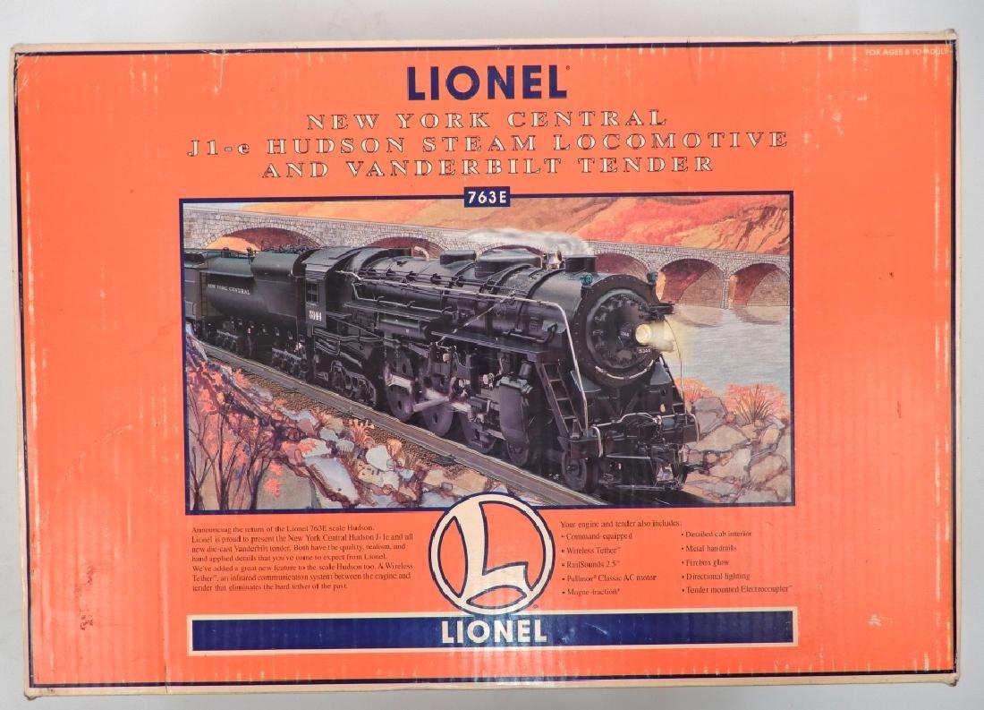 Lionel 763E NYC J1-e Hudson Steam Locomotive in box - 4