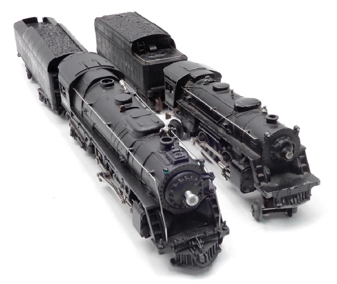 Two Lionel postwar O gauge locomotives and tenders - 3