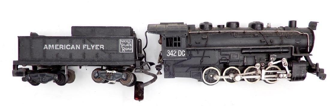 American Flyer No. 342 DC locomotive and tender