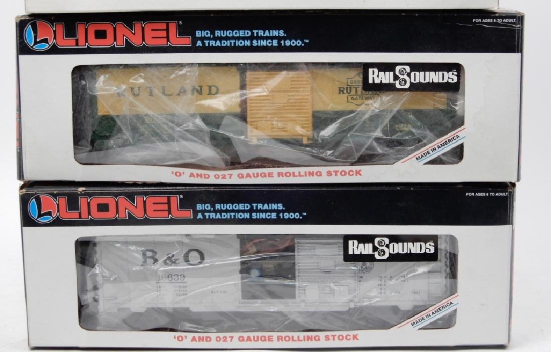 Lionel O and O27 gauge freight cars in boxes - 2