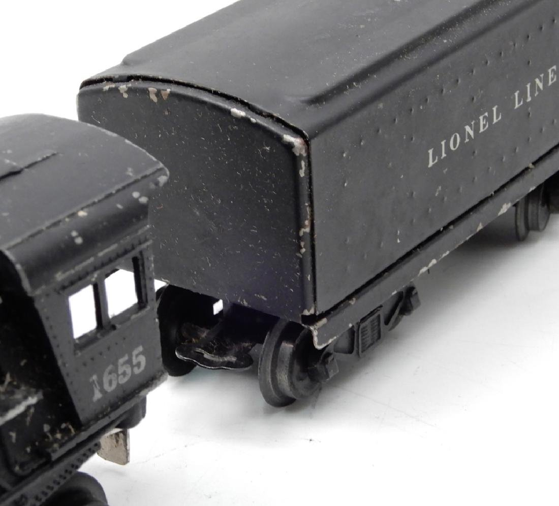 Lionel O27 gauge locomotives and freight cars - 6